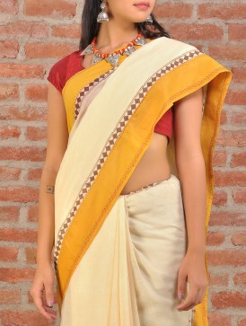 A Cotton Fulia saree. Image courtesy and copyright www.jaypore.com